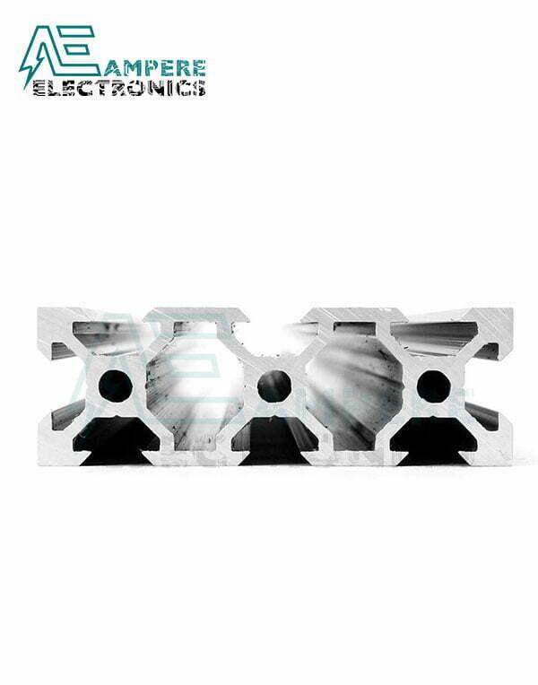 2060 V-Slot Aluminum Profile Extrusion (1M - Black Anodized)