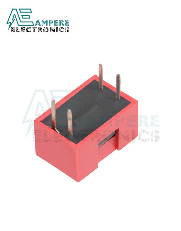 2 Way Red DIP Switch, 2.54mm Pitch