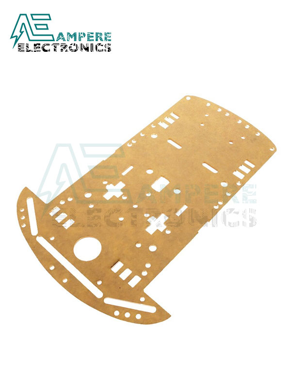 2WD Acrylic Plate Panel For Smart Car Chassis