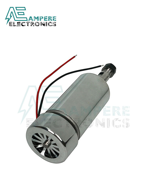 300W Air Cooled ER11 CNC Spindle Motor 12:48Vdc