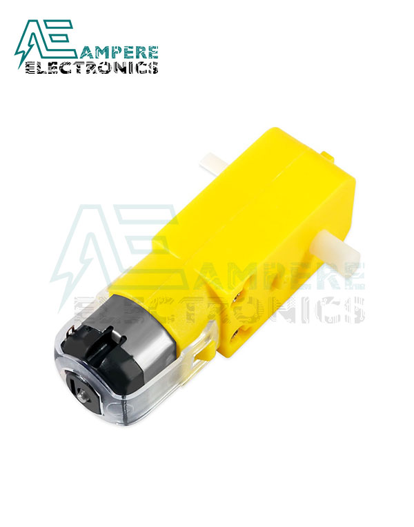 Smart Car Robot 3-6Vdc Geared Motor With 65mm Tire Wheel