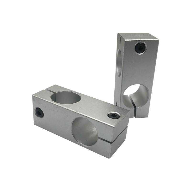 10mm Dia Double Holes Cross Linear Shaft Support