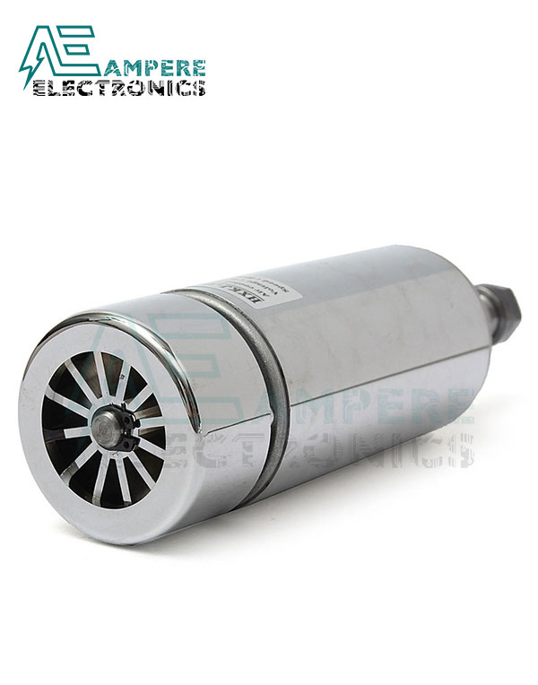 400W Air Cooled Spindle Motor 12:48Vdc With ER11 Chuck and Collet