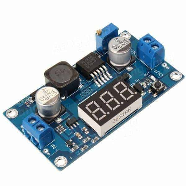 XL6009 4A DC-DC Adjustable Step-up Power Module With LED Voltmeter