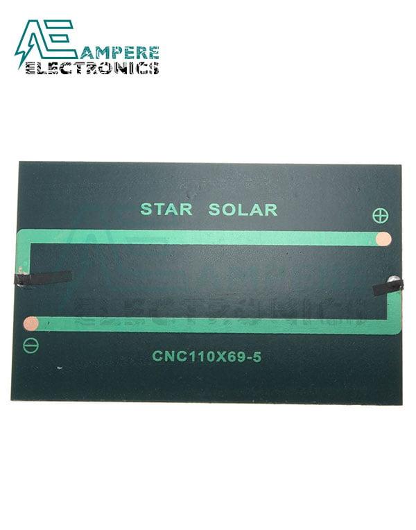 Solar Panel (5.5V , 2W) 110X135mm