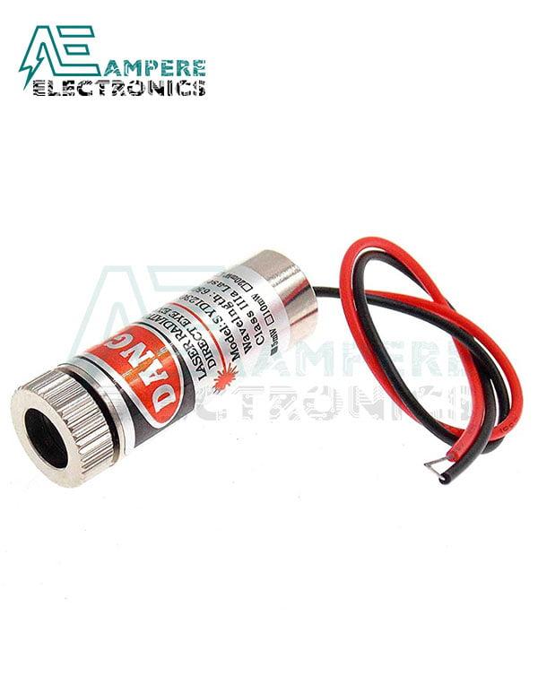 650nm Laser Emitter  Module (5Vdc , 5mW) – Point