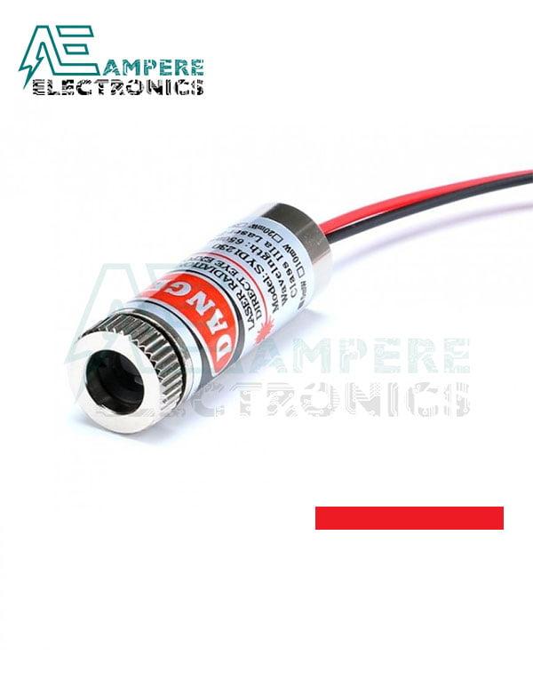 650nm Laser Emitter  Module (5Vdc , 5mW) – Line