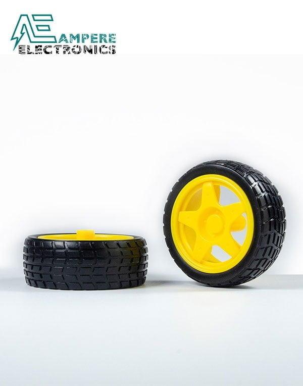 65mm Smart Car Robot Tire Wheel