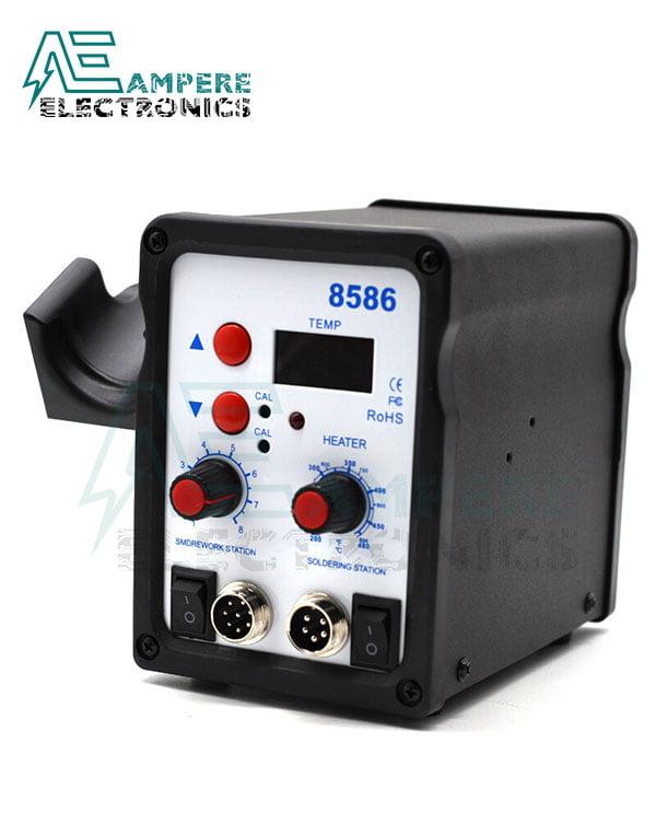 8586 – 2 In 1 Digital Smd Rework & Soldering Station