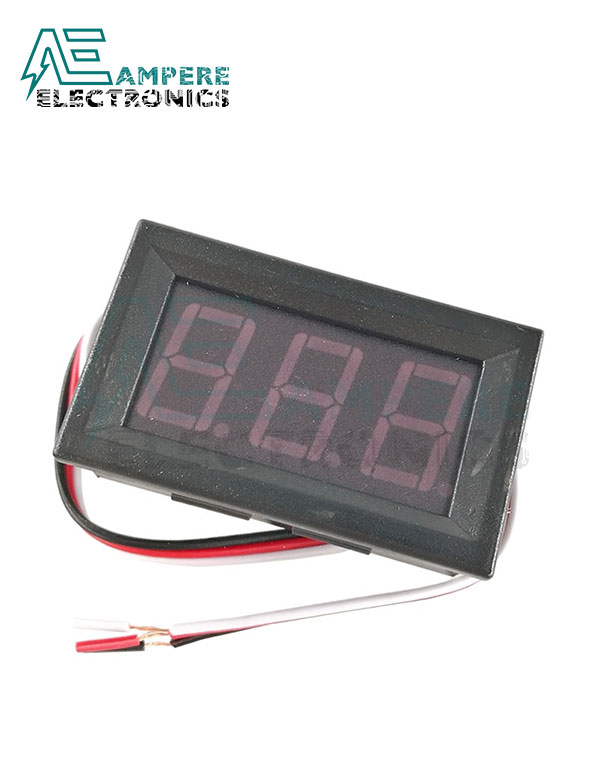 0V to 99Vdc LED Voltmeter Display Panel