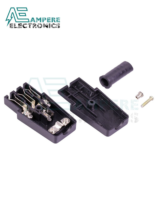 AC Power Extension Plug Female Jack