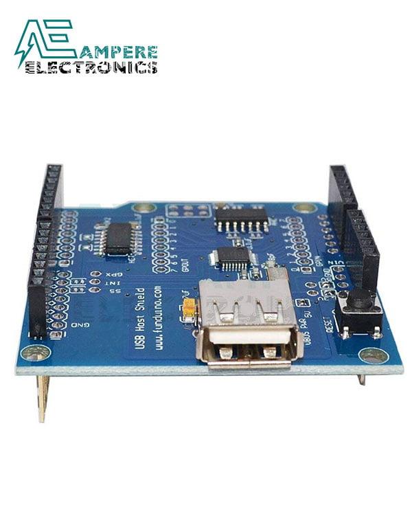 "Arduino Shield ""USB Host Shield – Support Google Android ADK"""