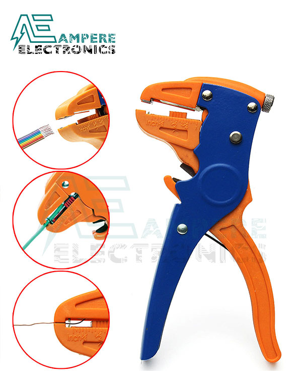 Automatic Cable Wire Stripper Cutter Pliers 0.2:6mm²