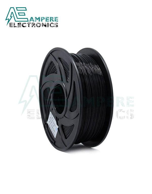 Black Color PLA Filament 1.75mm - 1kg/Roll