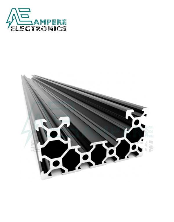 C-Beam Aluminium Linear Rail Extrusion (1M – Black Anodized)
