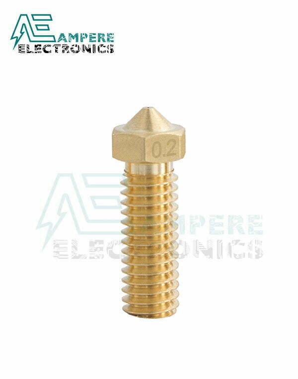0.5mm E3D V5 V6 Copper long Volcano Nozzle For 1.75mm Filament