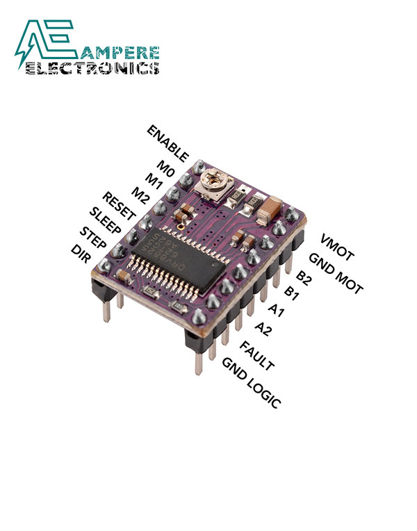 DRV8825 Stepper Motor Driver With Heat sink