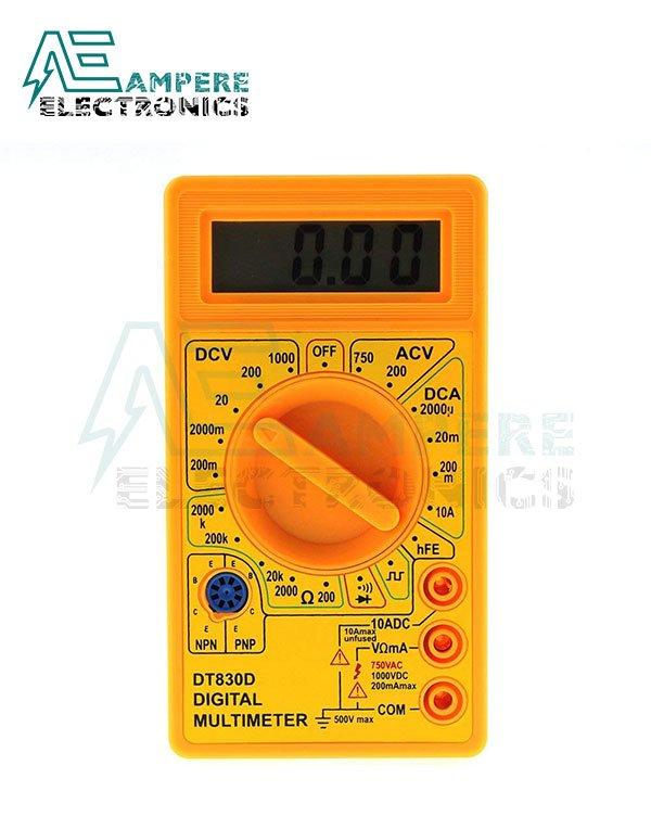 DT830D – Digital Multimeter