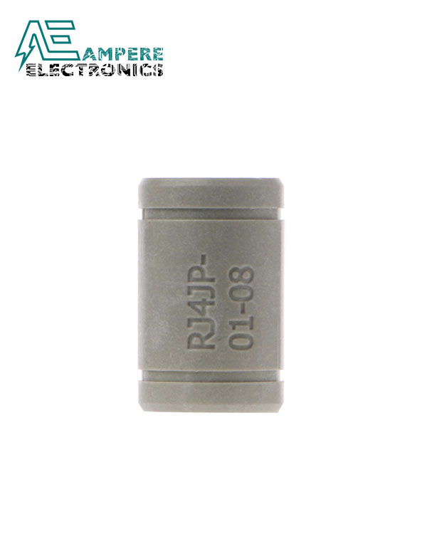 RJ4JP-01 Drylin Solid Polymer Bearing 8mm shaft