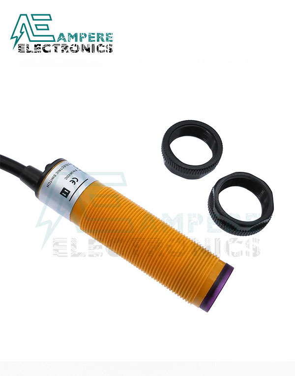 E3F-DS30C4 NPN, NO, Infrared Reflection Photoelectric Sensor 30Cm, 300mA, 6-36Vdc