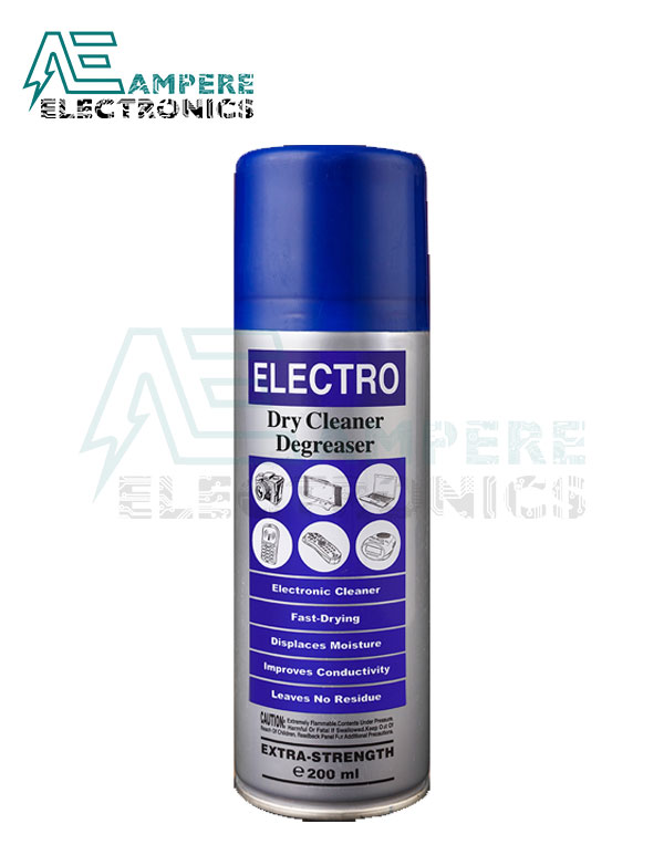 Electro Dry Cleaner Degreaser – 200 Ml