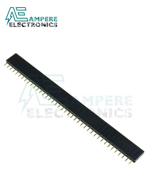 Pin Header male (2.54mm) 1X40 Straight