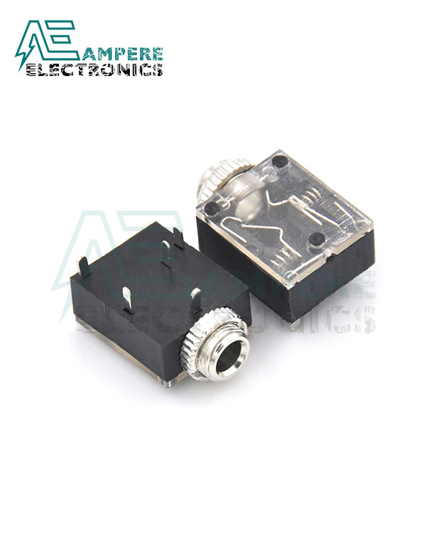 Female Stereo Audio Plug 5-Pin (3.5mm) , DIP