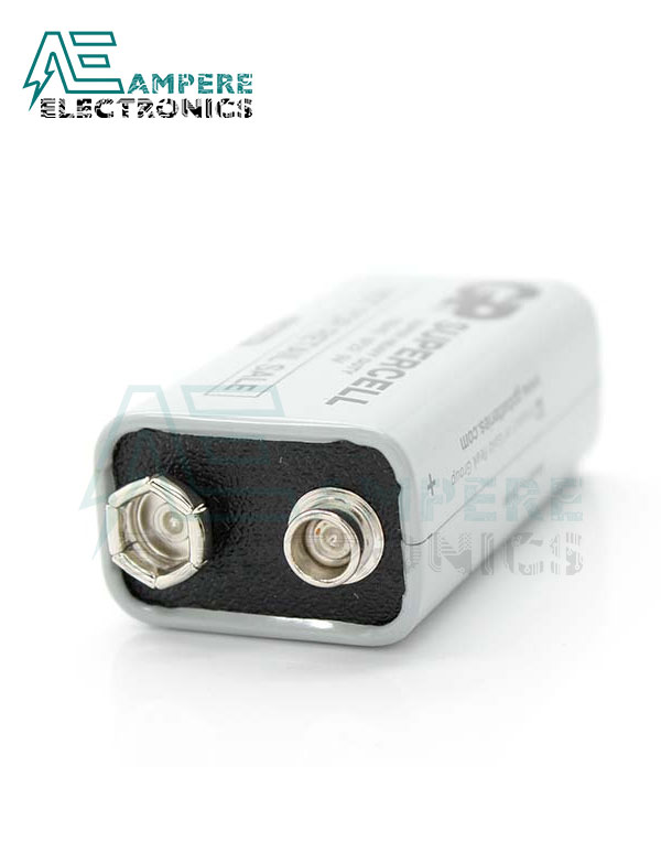 GP Supercell 9V Battery