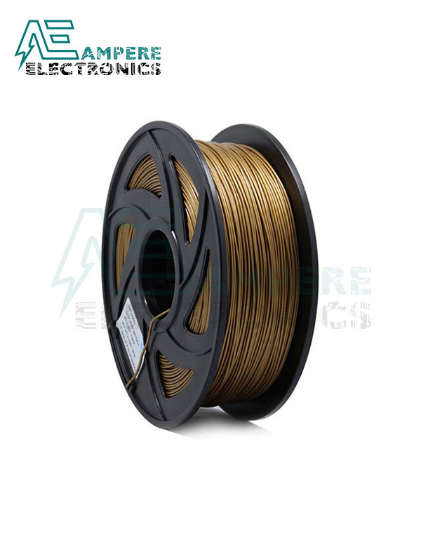 Gold Color PLA Filament 1.75mm – 1kg/Roll