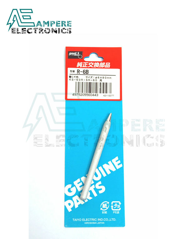 Goot R-6B Replacement Tip For 60W Soldering Irons (China)