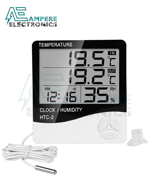 HTC-2 Thermometer and Humidity Indicator