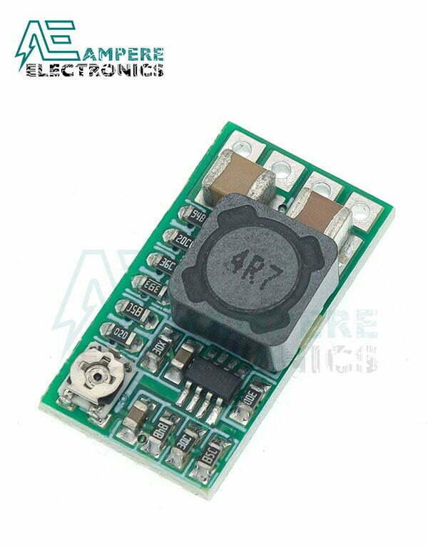 HW-613 Mini Step Down Buck Converter Module, 12-24Vdc To 5Vdc 3A