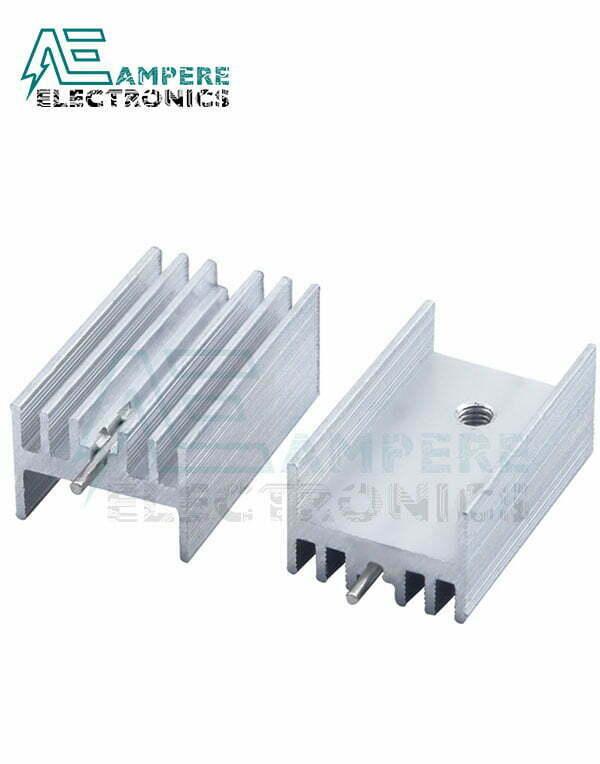 Heatsink TO-220 (25x14x10mm)