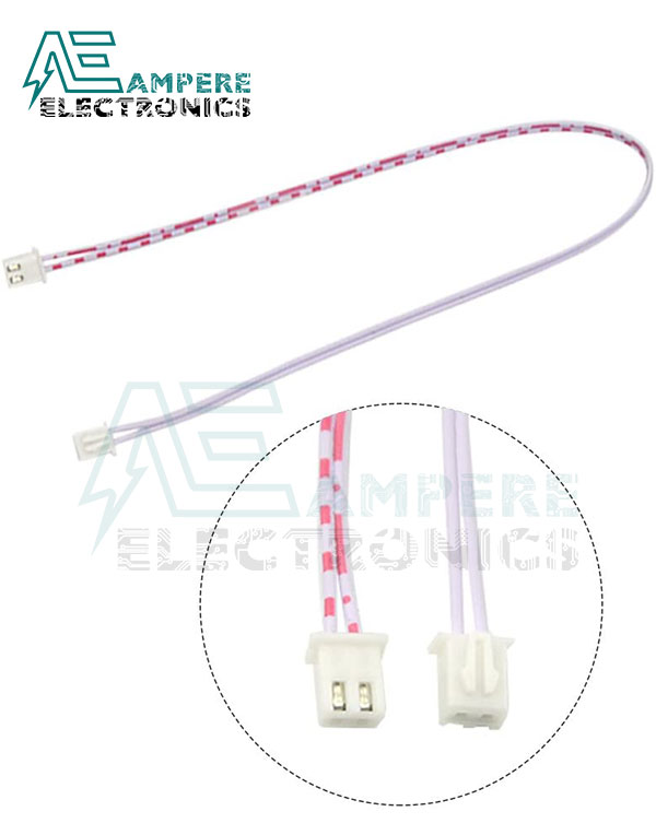 2Pin Xh2.54 JST Female To Female Connector With 300mm Wire