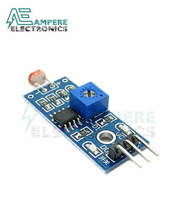 3Pin LDR Module – Optical Sensitive Resistance Light Detection Sensor Module