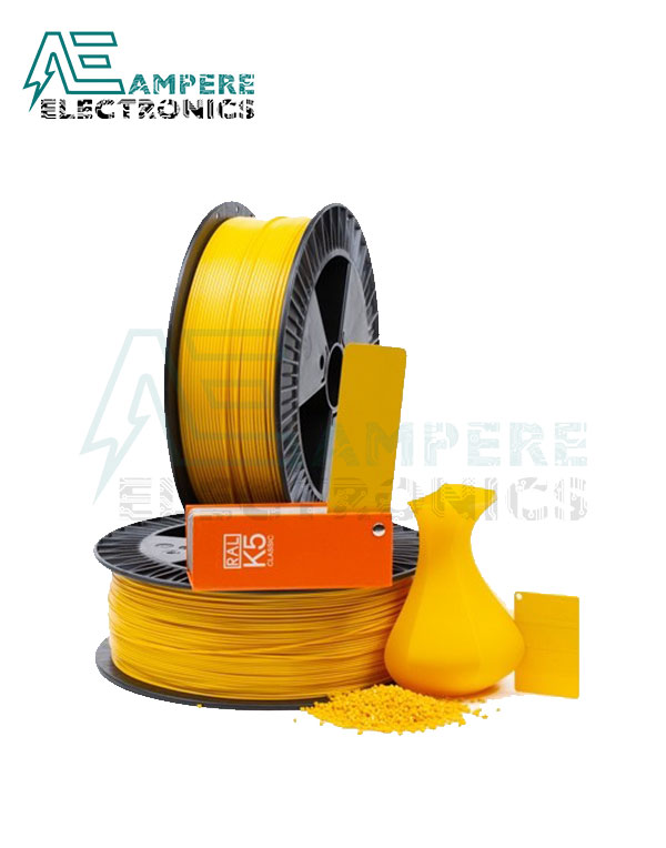 MAXWELL Gold Color PLA Filament 1.75mm – 1kg/Roll