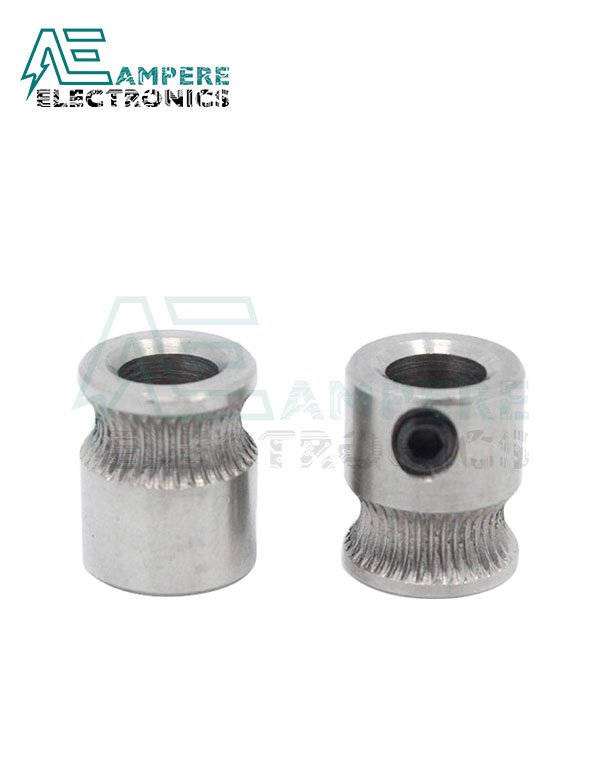 MK7 Stainless Steel Extrusion Gear for 1.75mm Filament