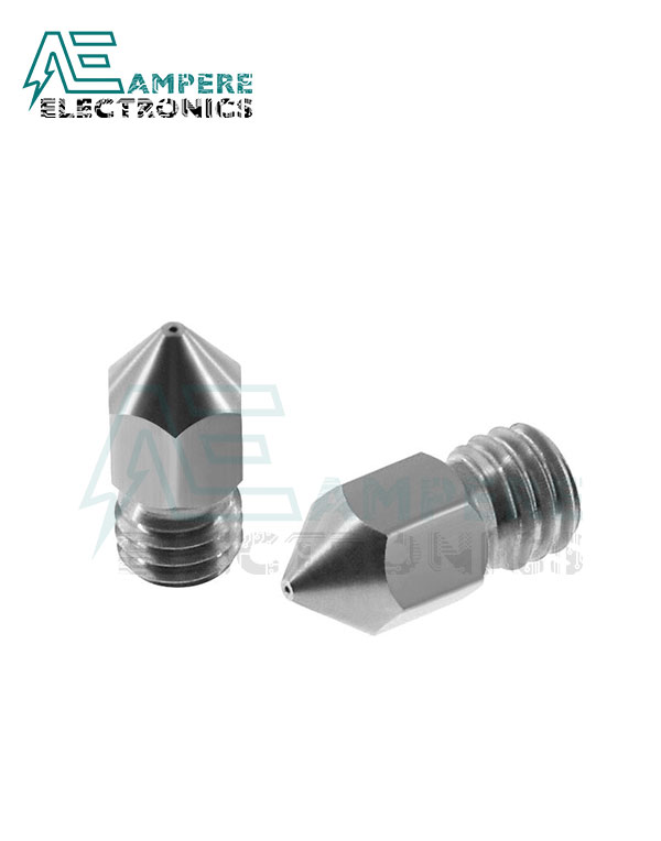 0.2mm MK8 CR10 Stainless Steel Nozzle For 1.75mm Filament