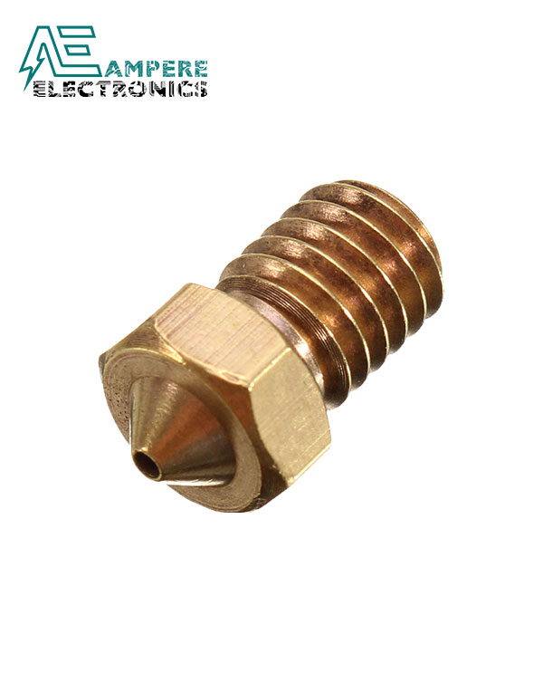 0.4mm E3D MK8 V5 V6 Copper Nozzle For 1.75mm Filament