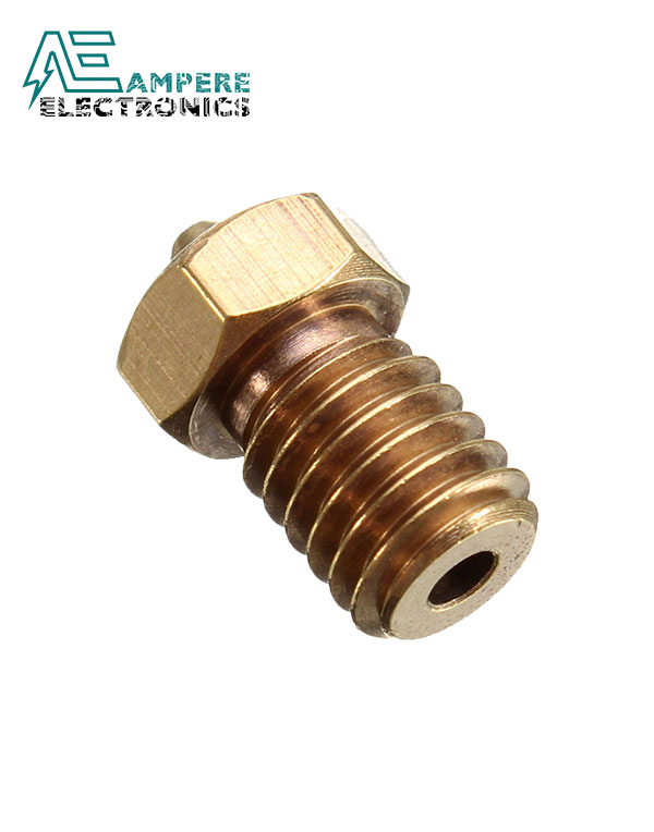 0.25mm E3D MK8 V5 V6 Copper Nozzle For 1.75mm Filament