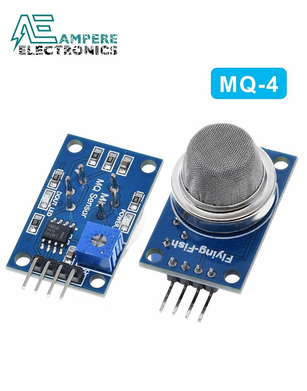 "MQ-4 Gas Sensor Module ""Natural Gas ,Coal CO & Methane Detection"