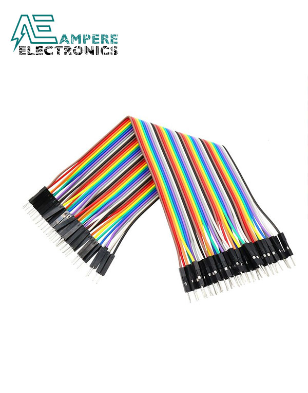 Male to Female – 20cm 10 Pin Jumper Wire Set