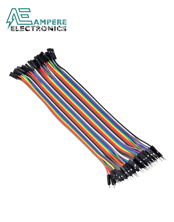 Male to Female – 30cm 10 Pin Jumper Wire Set