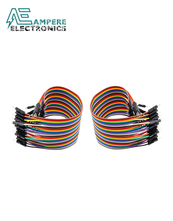 Female to Female – 10cm 10 Pin Jumper Wire Set