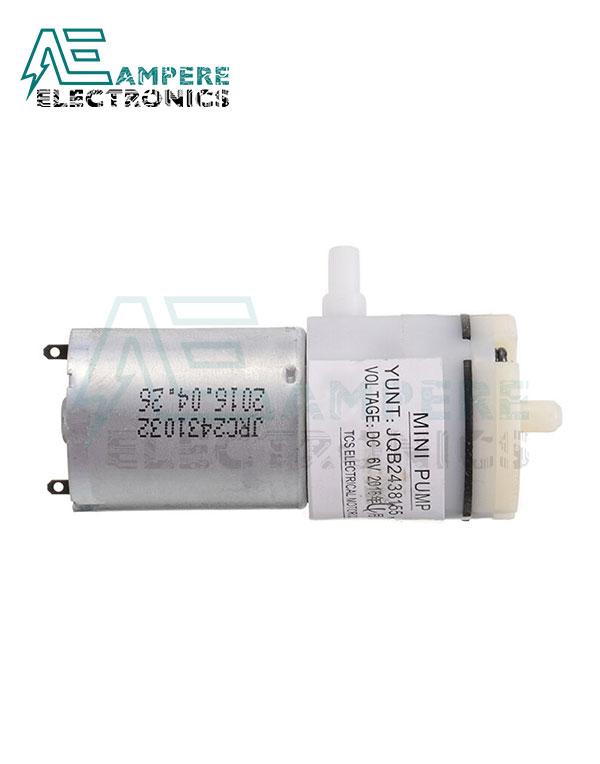 Micro Air Vacuum Pump Mini 370 Motor 6Vdc