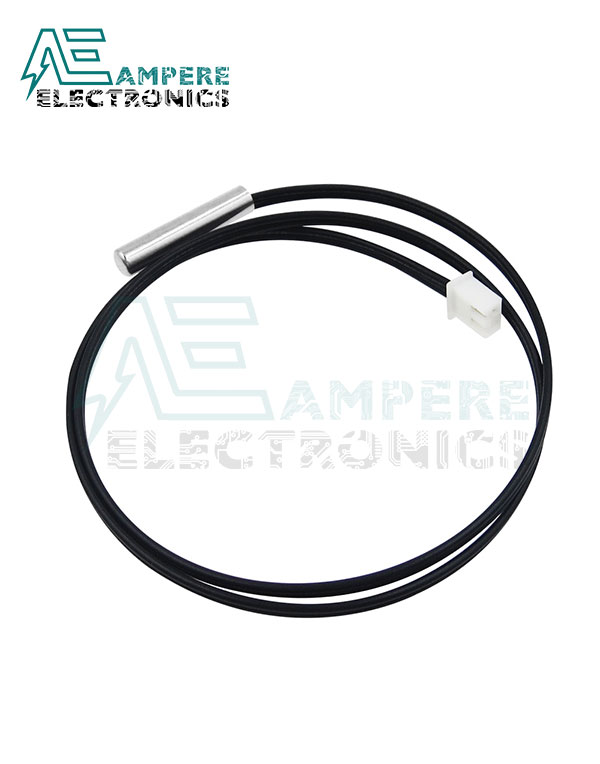 NTC Thermistor Temperature Sensor Waterproof – Wire Length 50cm