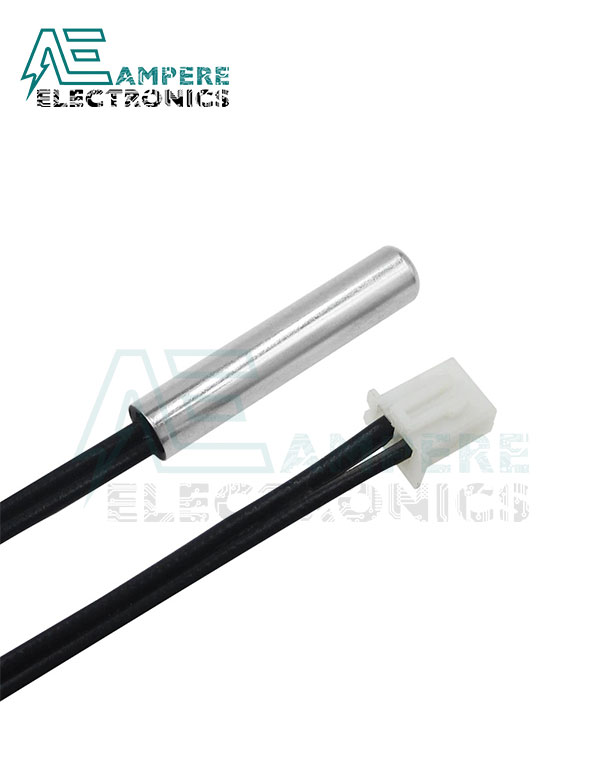 10Kohm NTC Waterproof Thermistor Probe Cable 30Cm