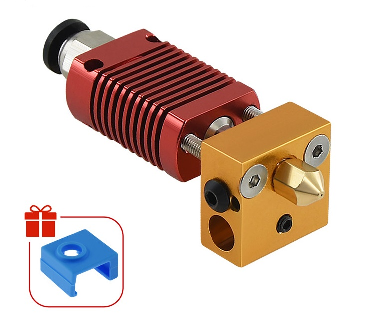 Ender-3 / CR10 Red Extrusion Head Kit