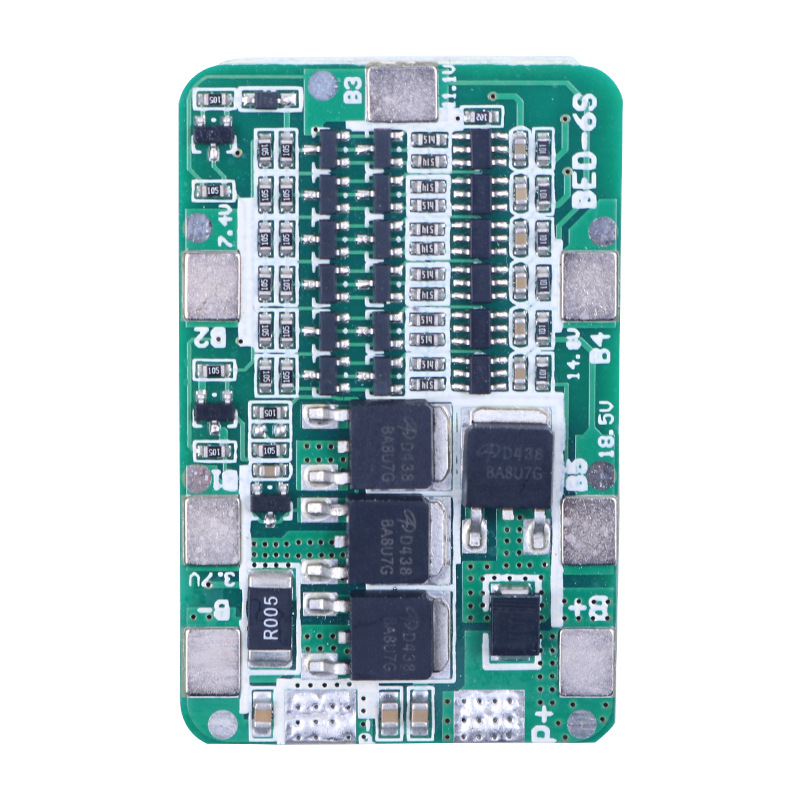 BMS 6S 12A 6 string lithium battery protection board 22.2V 25.2V 18650