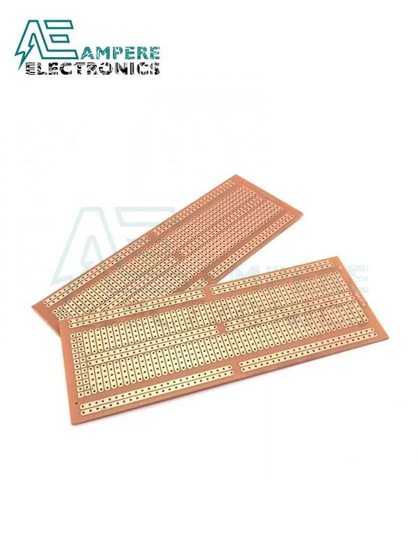PCB Bread Board Shape FR2 (4.8×13.3cm2)